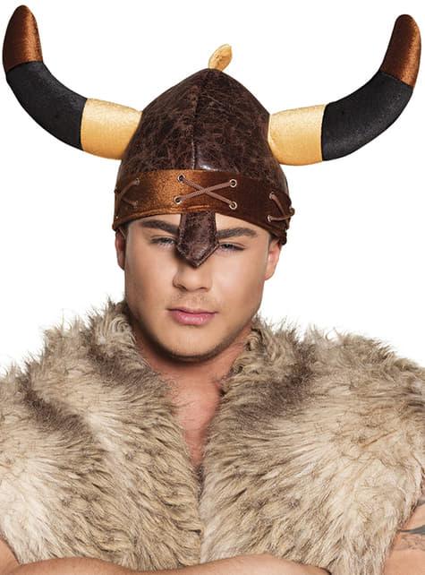 Casco de Vikingo duro para adulto