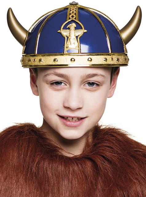 Casco de Vikingo malote para niño