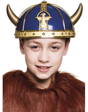 Casque méchant viking enfant
