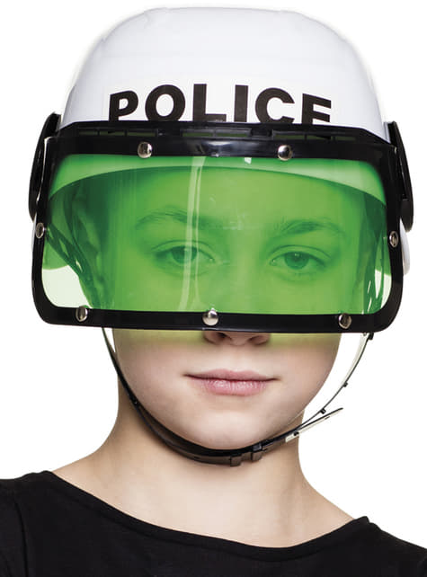 Casco de Policía antidisturbios infantil