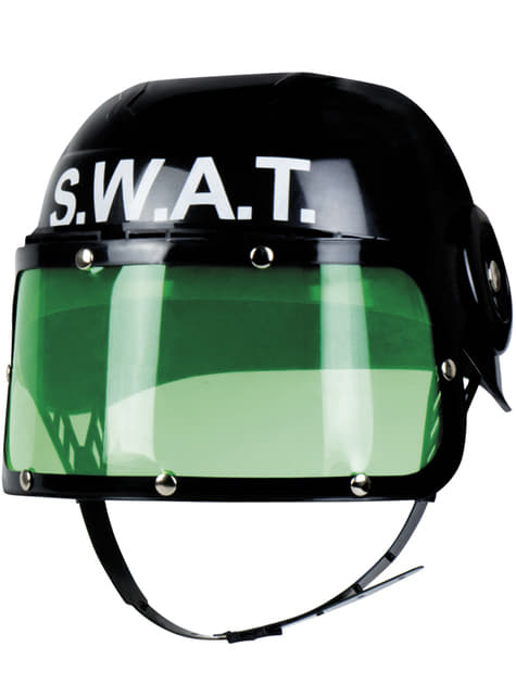 Casco de SWAT antidisturbios infantil - para tu disfraz
