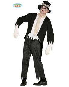 Disfraz de novio fantasmagórico para hombre
