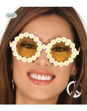 Kadınlar için Hippy papatya gözlükleri