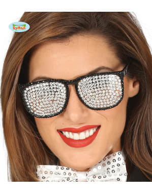 Gümüş diamante gözlük