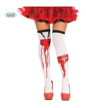 महिलाओं के लिए खून बह रहा घावों के साथ चड्डी