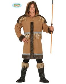 Elegant Eskimo Costume For Men
