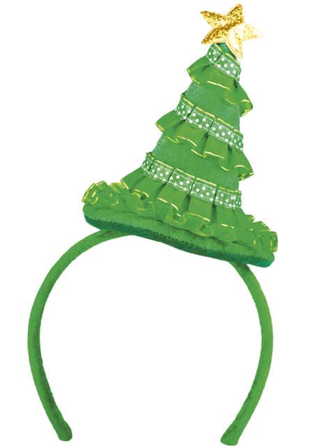 Christmas tree headpiece for adults