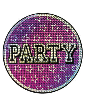 Party sign decoration
