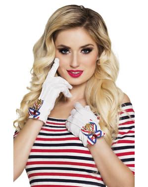 Sailor gloves for women
