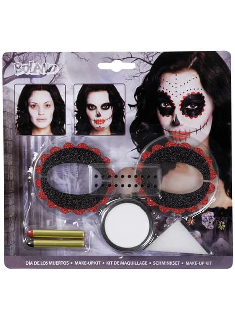 Conjunto de Maquilhagem Catrina para adulto