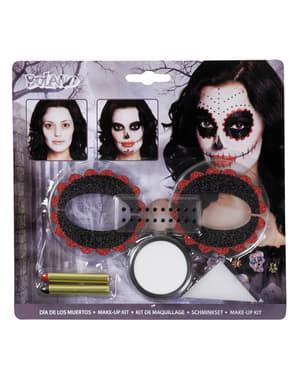 Catrina make-up ditetapkan untuk orang dewasa