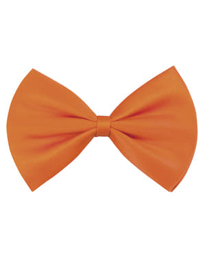 Nœud papillon orange adulte