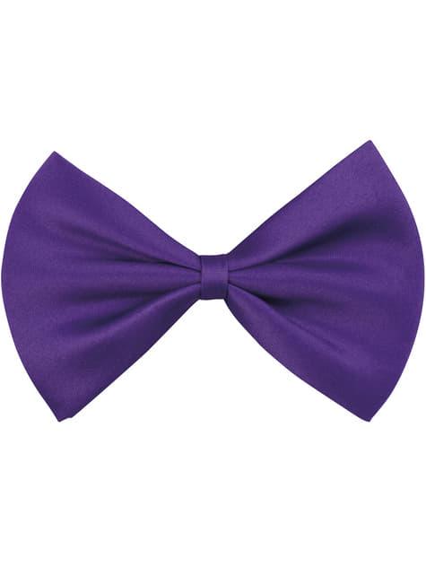 Nœud papillon violet adulte