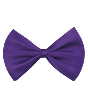 Purple bow tie for adults