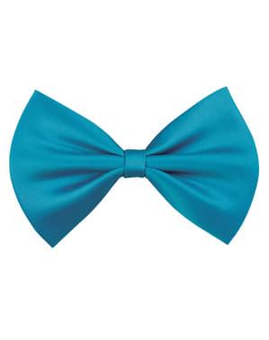 Turquoise strik voor volwassenen