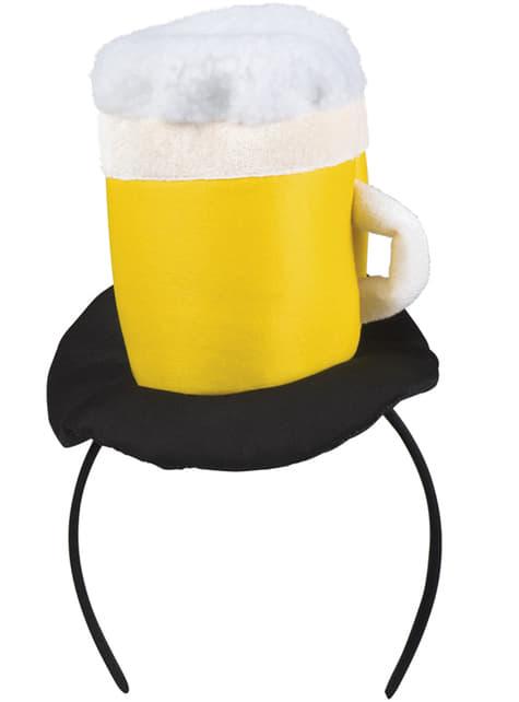 Bandolete com caneca de cerveja para adulto