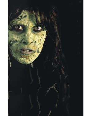 Green makeup cream