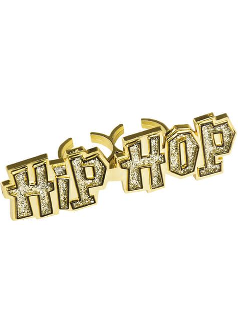 Anel hip hop para mulher