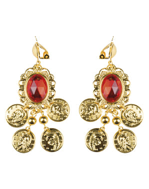 Gypsy buganvilla earrings for women
