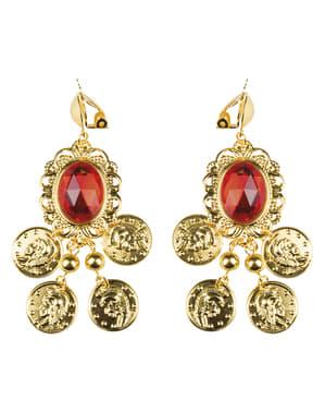 Gypsy buganvilla earrings for women
