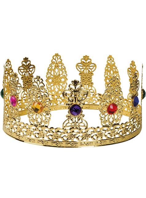 Corona de reina medieval para mujer - para tu disfraz