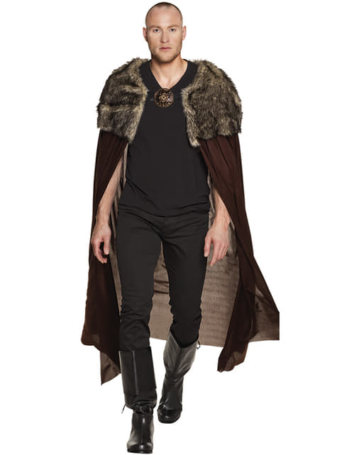 A Beyond the Wall Cape with fur for adults