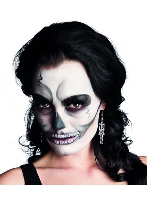 Pendientes de esqueleto para mujer - Halloween