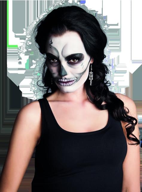 Pendientes de esqueleto para mujer - Carnaval