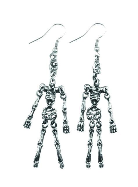 Pendientes de esqueleto para mujer
