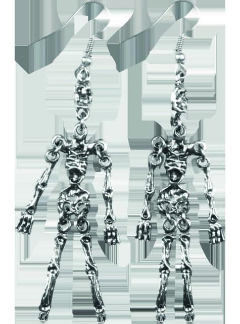 Pendientes de esqueleto para mujer - barato
