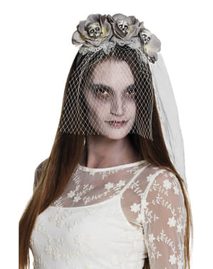 Serre-tête fiancée cadavérique femme