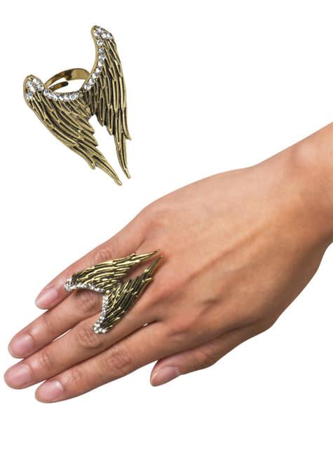 Anillo alas de ángel para mujer