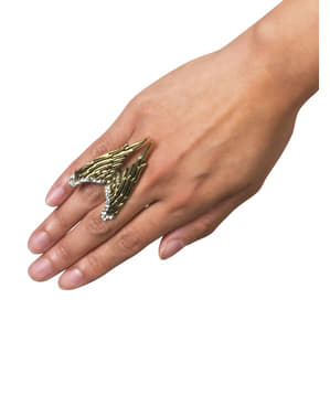 Angel wings ring for women