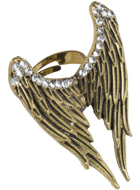 Anillo alas de ángel para mujer - Halloween