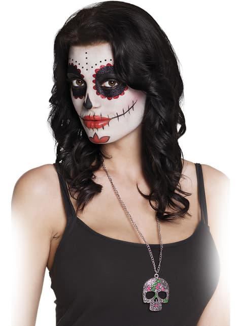 Collar de esqueleto Catrina