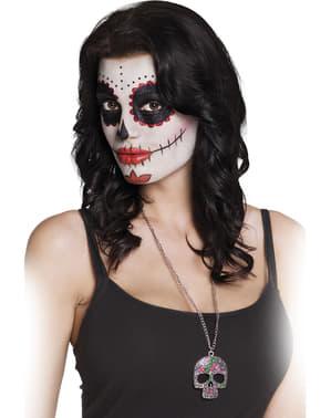 Catrina skelet halskæde