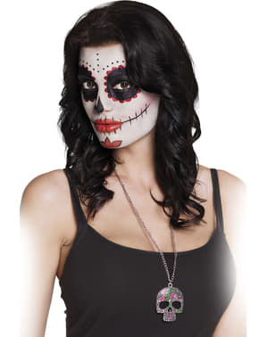Catrina skeleton necklace
