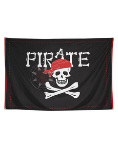hot sale online b1714 fb347 Flagga pirat XXL