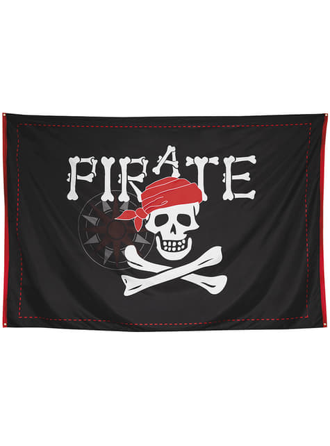 Flaga piracka XXL