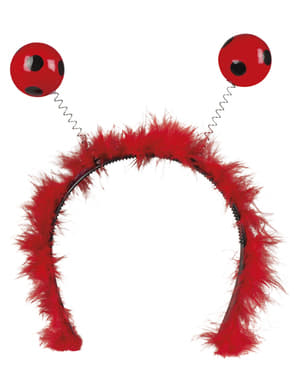Ladybird headpiece for women