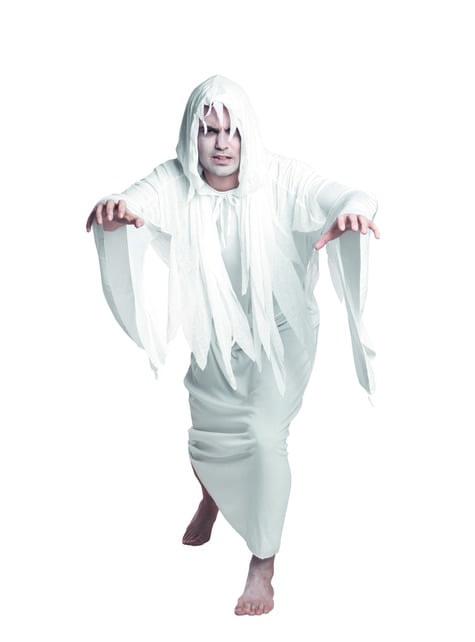 Disfraz de fantasma del cementerio para hombre