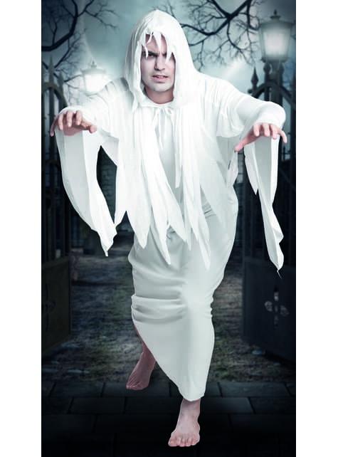 Disfraz de fantasma del cementerio para hombre - original