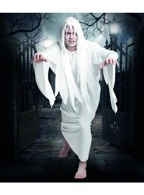Disfraz de fantasma del cementerio para hombre - traje