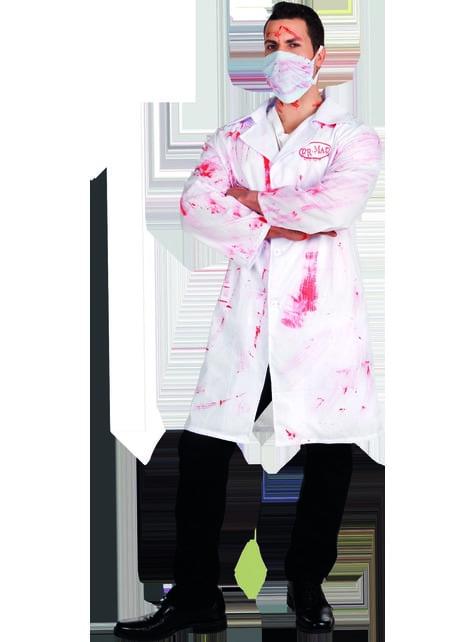 Disfraz de doctor sádico para hombre - hombre