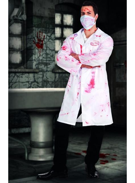 Disfraz de doctor sádico para hombre - barato