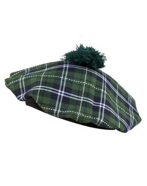 Green Scottish beret