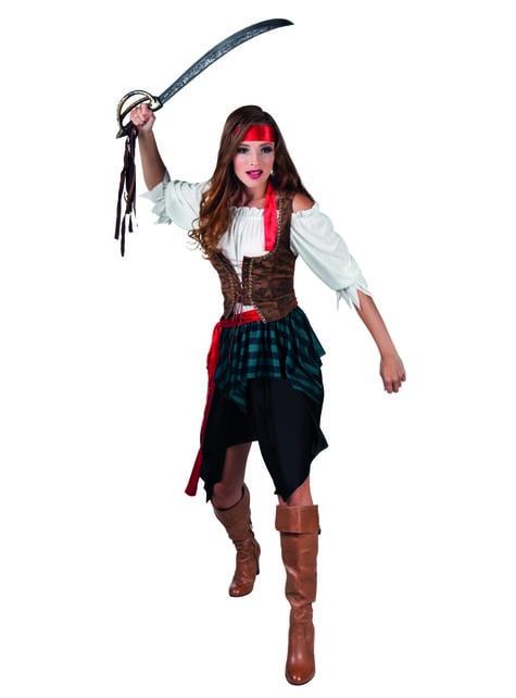Warrior Pirate Costume for women