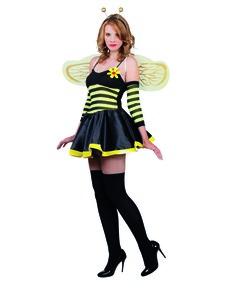 Disfraz de abeja sugerente para mujer