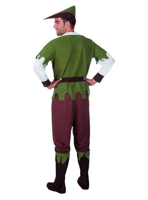 Disfraz de justiciero de los bosques para hombre - original