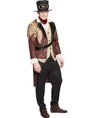 Disfraz de capitán Steampunk para hombre